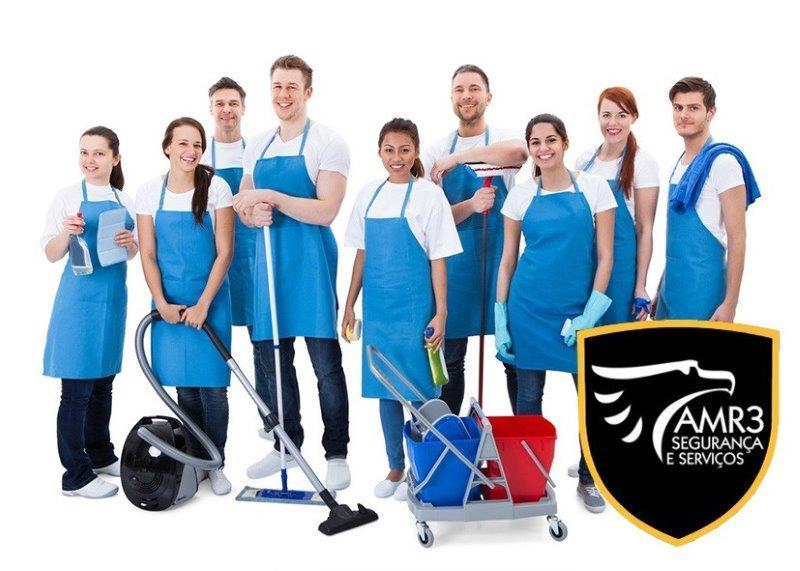Empresa de portaria e limpeza