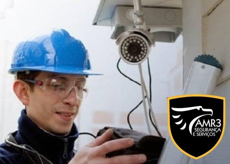 Serviços de instalação de câmeras de segurança